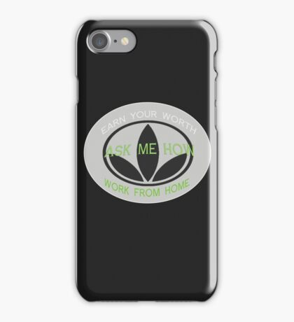 Herbalife Earn Your Worth Herbaswag  iPhone Case/Skin