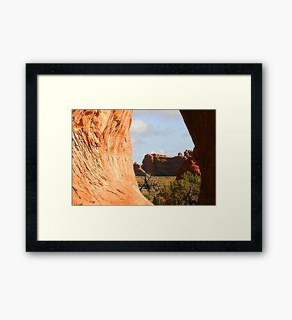 Arches 014 Framed Print