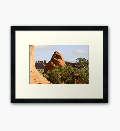 Arches 015 Framed Print