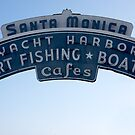 Santa Monica - California USA by Norman Repacholi