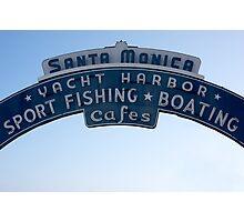 Santa Monica - California USA Photographic Print