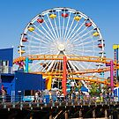 Pacific Park - Santa Monica California USA by Norman Repacholi