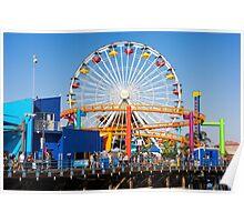 Pacific Park - Santa Monica California USA Poster