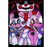 Fnaf - Sister Location  Photographic Print
