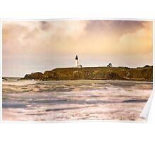 Newport Oregon - Nye Beach Poster