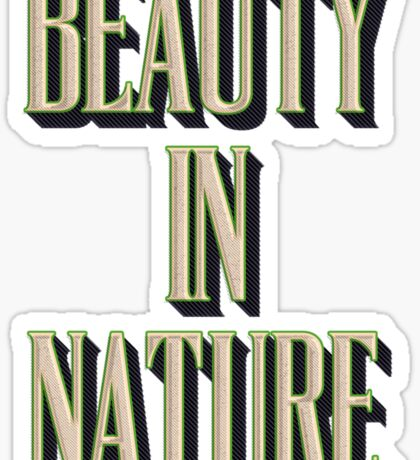 Beauty In Nature Sticker