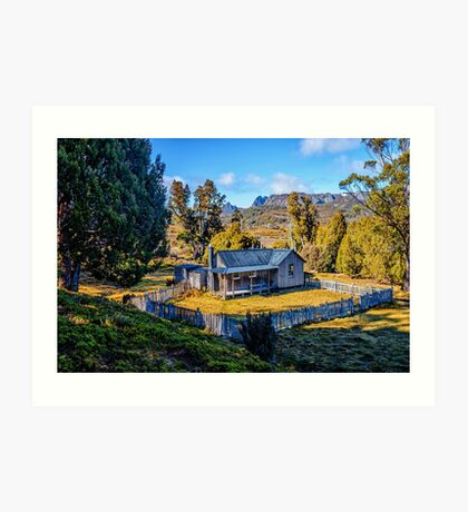 Mount Kate Hut Art Print