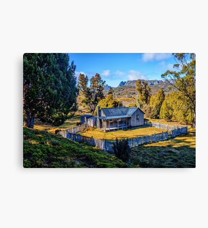 Mount Kate Hut Canvas Print