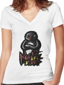 Noot Noot Women's Fitted V-Neck T-Shirt