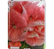 Pink Flowers HDR iPad Case/Skin