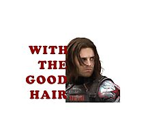 Bucky with the good hair Photographic Print