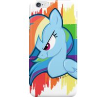 Get Ready For Rainbow Dash! iPhone Case/Skin