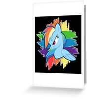 Get Ready For Rainbow Dash! Greeting Card