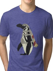 Rocket Penguin Tri-blend T-Shirt