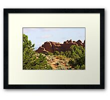 Arches 021 Framed Print