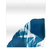 Cyanotype Fabric Design Poster