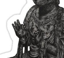Boddhisattva Statue Drawing Sticker