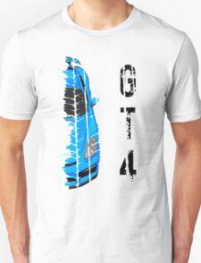 Light blue Porsche cayman gt4 Unisex T-Shirt