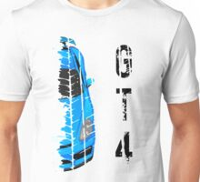 Light blue Porsche cayman gt4 Unisex T-Shirt