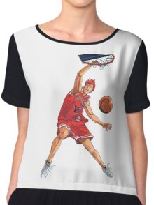 slam dunk Chiffon Top