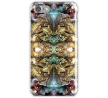 Abstract background pattern iPhone Case/Skin