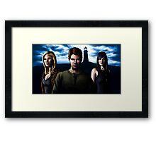 Haven; Audrey, Nathan, Jordan Framed Print