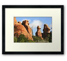 Arches 025 Framed Print