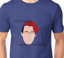 """Hello Everybody"" - Markplier Unisex T-Shirt"