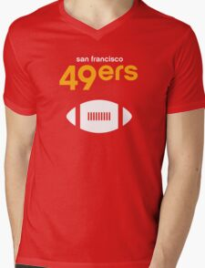 San Francisco 49ers Mens V-Neck T-Shirt