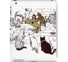 Cat Fight Club iPad Case/Skin