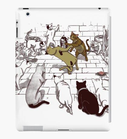 Cat Fight Club iPad Case/Skin
