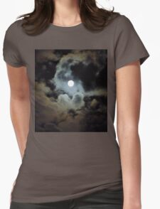 By the Light of the Moon Womens Fitted T-Shirt