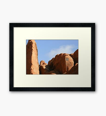 Arches 029 Framed Print