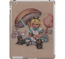 Alice in Fandomland (somewhere in Gaderen's Forest) iPad Case/Skin