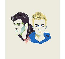 Jack and Jack vector art Photographic Print
