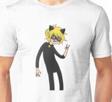 Cat Noir (Adventure Time version) Unisex T-Shirt