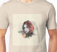 Lily Collins Digital Fan Art Unisex T-Shirt