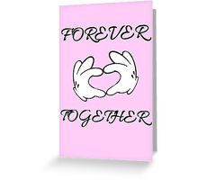 Forever Together no.2 Greeting Card