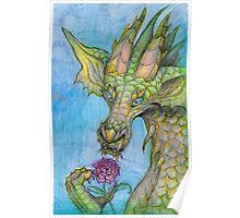 Nature Dragon Poster