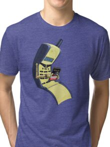 Sad Phone Tri-blend T-Shirt