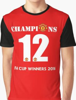 CHAMPIONS Red Devils 2016 Graphic T-Shirt