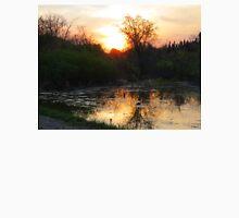 Sunset Over The Beaver Pond Unisex T-Shirt