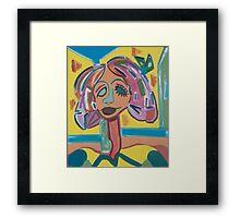 My Heart Belongs to Blondie Framed Print