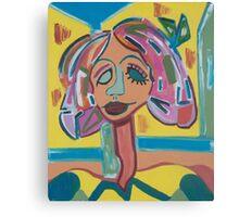 My Heart Belongs to Blondie Canvas Print