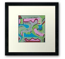 Ye' Ol' Swimming Hole Framed Print