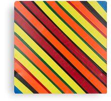 Striped Confession Canvas Print