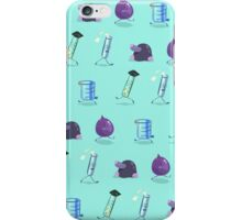 Chemistry Lab Equipment Repeating  iPhone Case/Skin