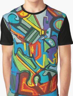 Front Door, Side Door, Attic Graphic T-Shirt