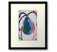 The Eye of a Painter Framed Print