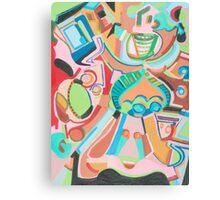 Adobe Friends Canvas Print